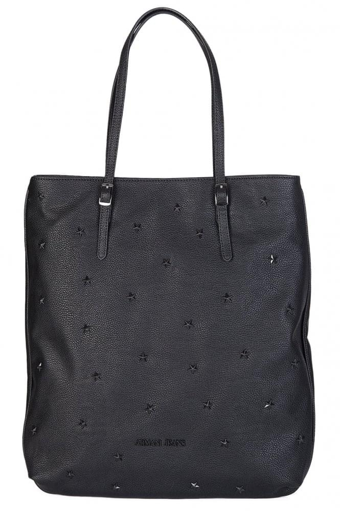 ARMANI Women's Star Shopper Black