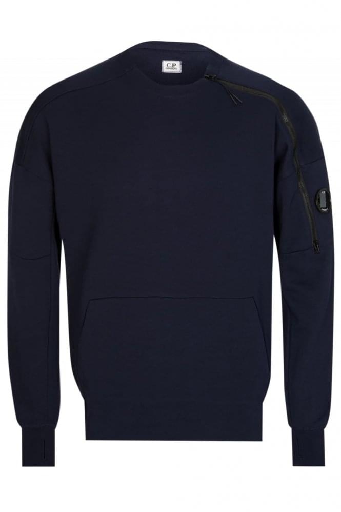 CP COMPANY ASYMETRIC ZIP SWEAT