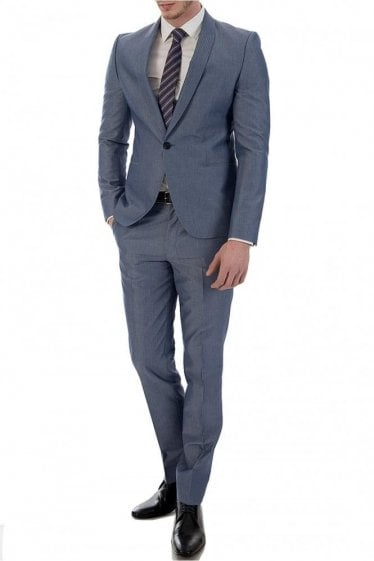 Hugo Boss Avin/Hacey Blue Suit