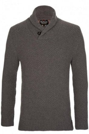 Barbour International Spectre Shawl Knit Pull Over