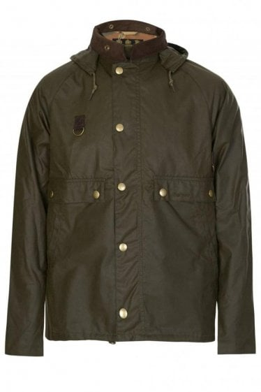 Babour Speyside Wax Jacket Green