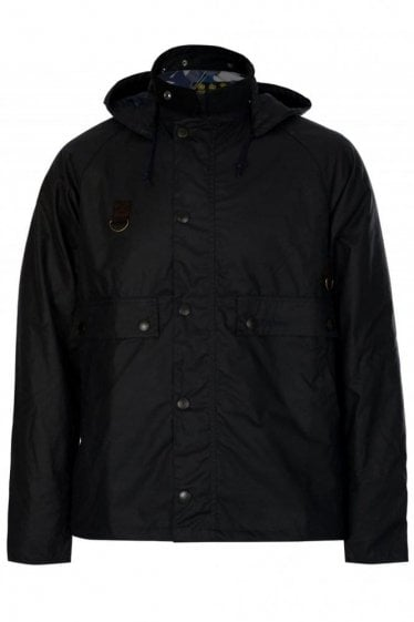Babour Speyside Wax Jacket Navy