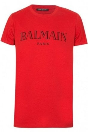Balamin Paris Tee Red