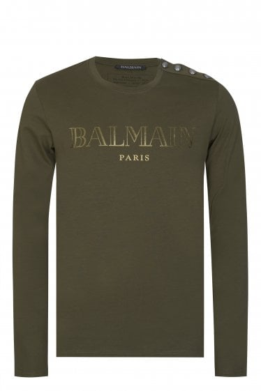 BALMAIN ML BUTTON TOP