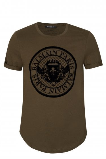Balmain Paris Coin Logo T-shirt