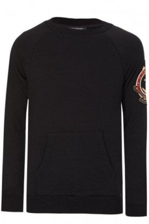 Balmain Paris Cotes Badge Sweatshirt