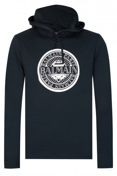 Balmain Paris Hooded T-shirt