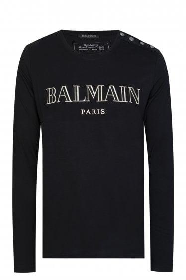 Balmain Paris Logo T-shirt