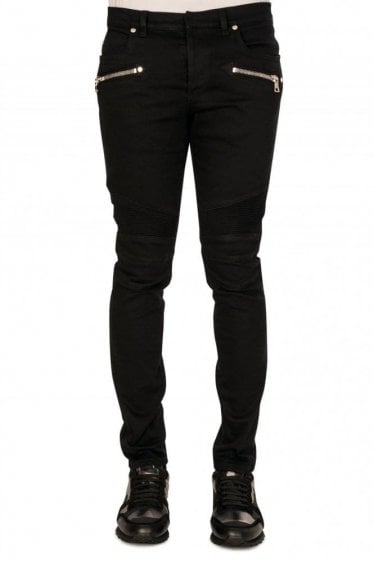 Balmain Paris Ultimate Biker Jeans
