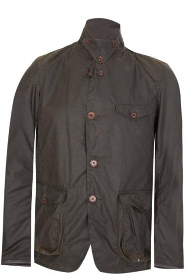 Barbour Beacon Sports Jacket Olive