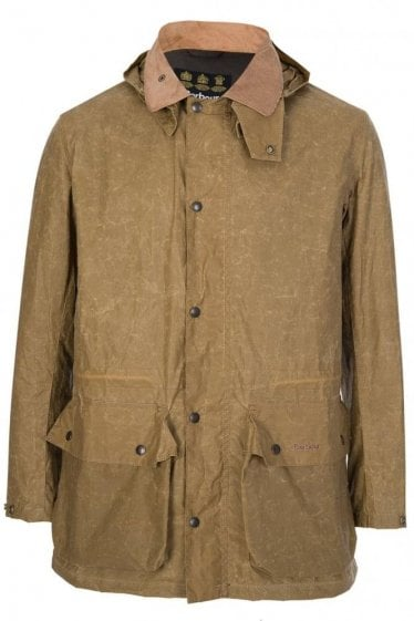 Barbour Binnacle Wax Jacket Stone