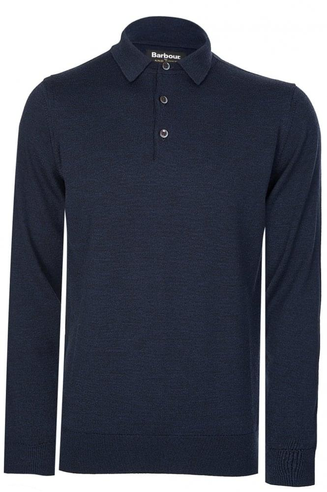 BARBOUR Eastnor Long Sleeved Polo Navy