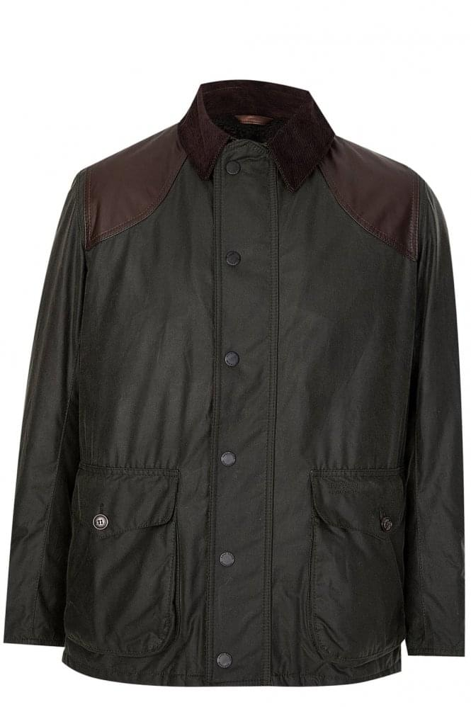 BARBOUR Espionage Wax Coat