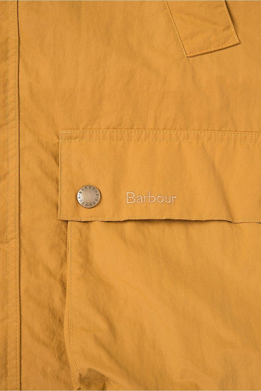 Barbour Hooded Bedale Jacket Mustard