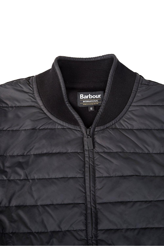Barbour International Baffle Zip Through