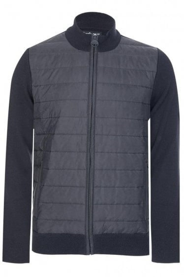 Barbour International Cadwell Zip Through Black