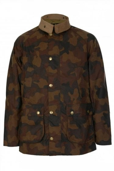 Barbour International Camo Bedale