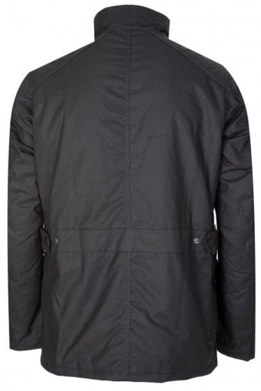 Barbour International Crank Wax Black
