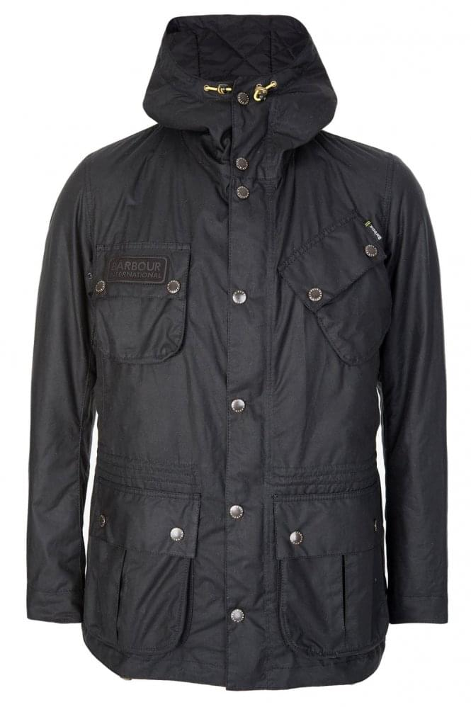 BARBOUR International Fog Parka Black
