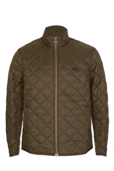 Barbour International Gear Quilted Jacket Olive
