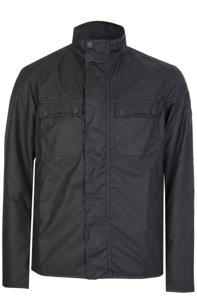 BARBOUR International Lock Wax Jacket Black