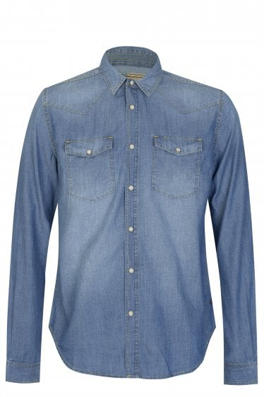 Barbour International Nevada Denim Shirt