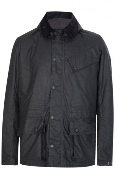 Barbour International Onyx Waxed Jacket