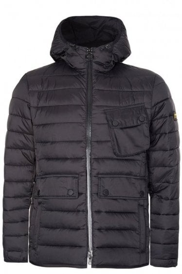 Barbour International Ouston Hooded Quilted Jacket