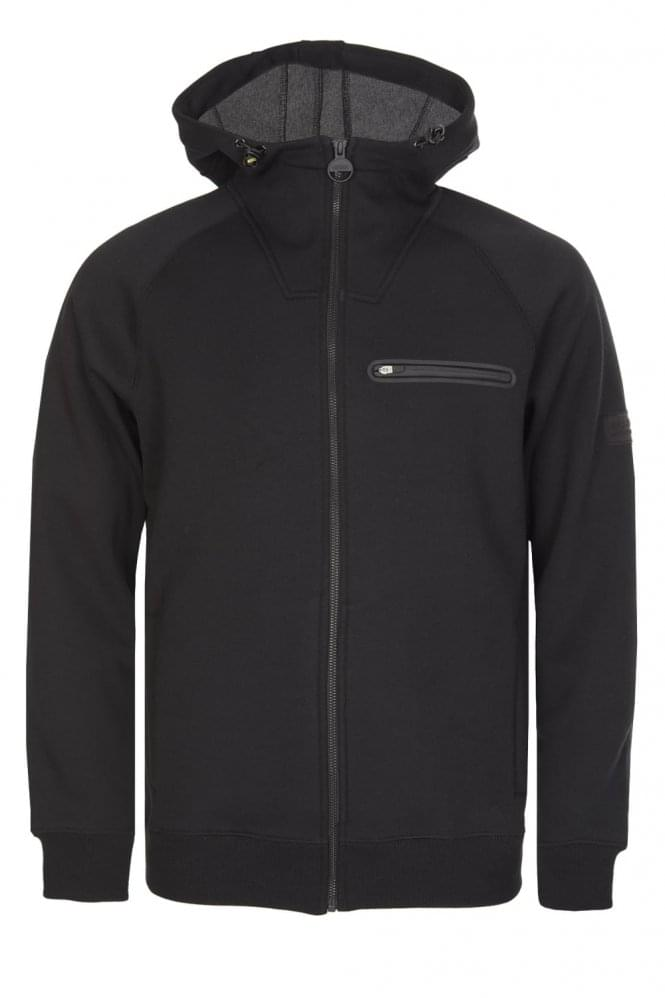 BARBOUR International Podium Hoody Black