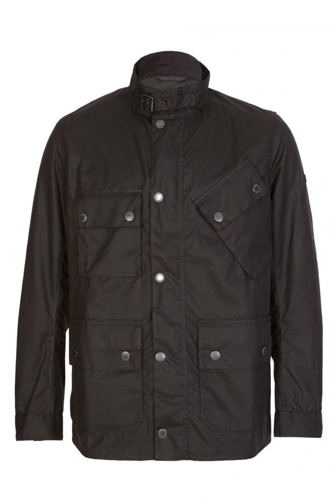 BARBOUR International Tyne Wax Jacket Black