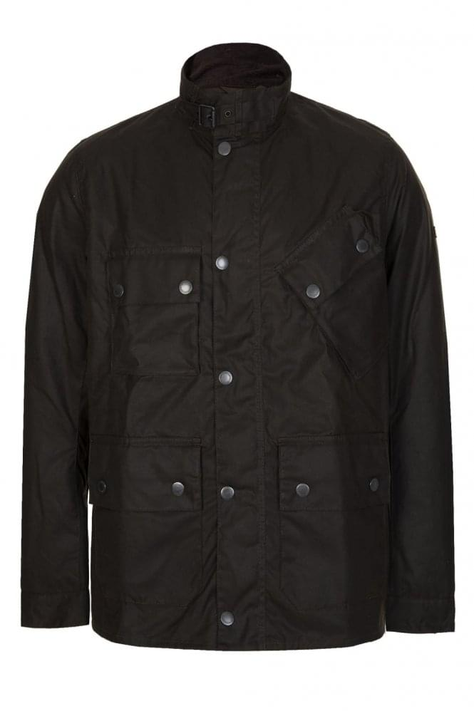 BARBOUR International Tyne Wax Jacket Brown