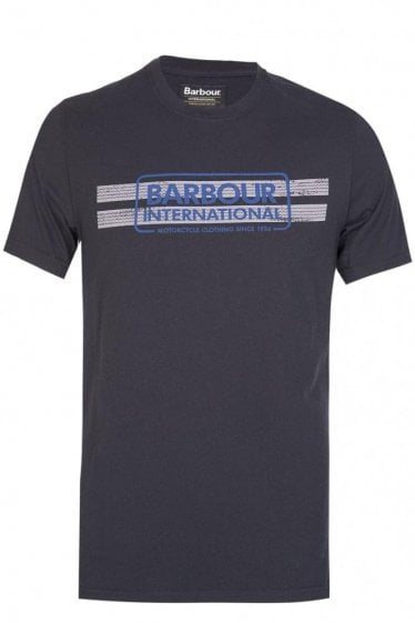 Barbour International Tyre Track Tshirt