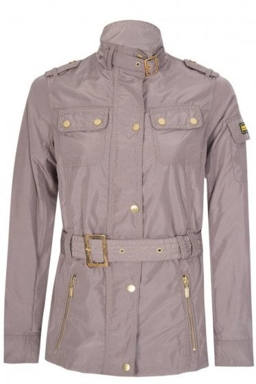 Barbour International Women's Swingarm Casual Jacket Brown