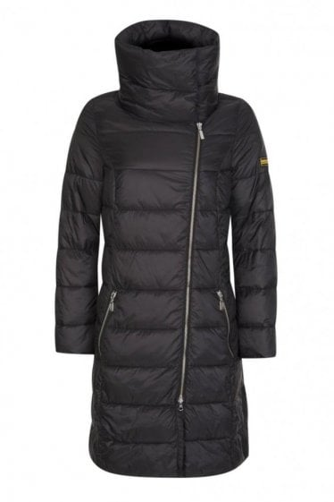 Barbour Mallory Quilt Jacket Black