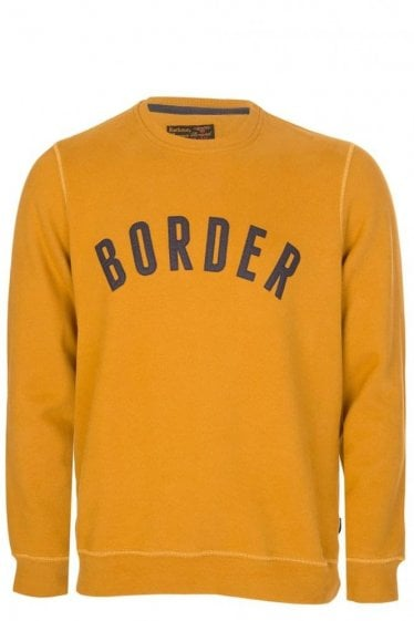 Barbour Millport Sweatshirt Yellow