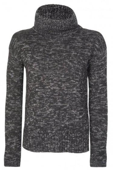 Barbour Womens Endo Knit Jumper Black