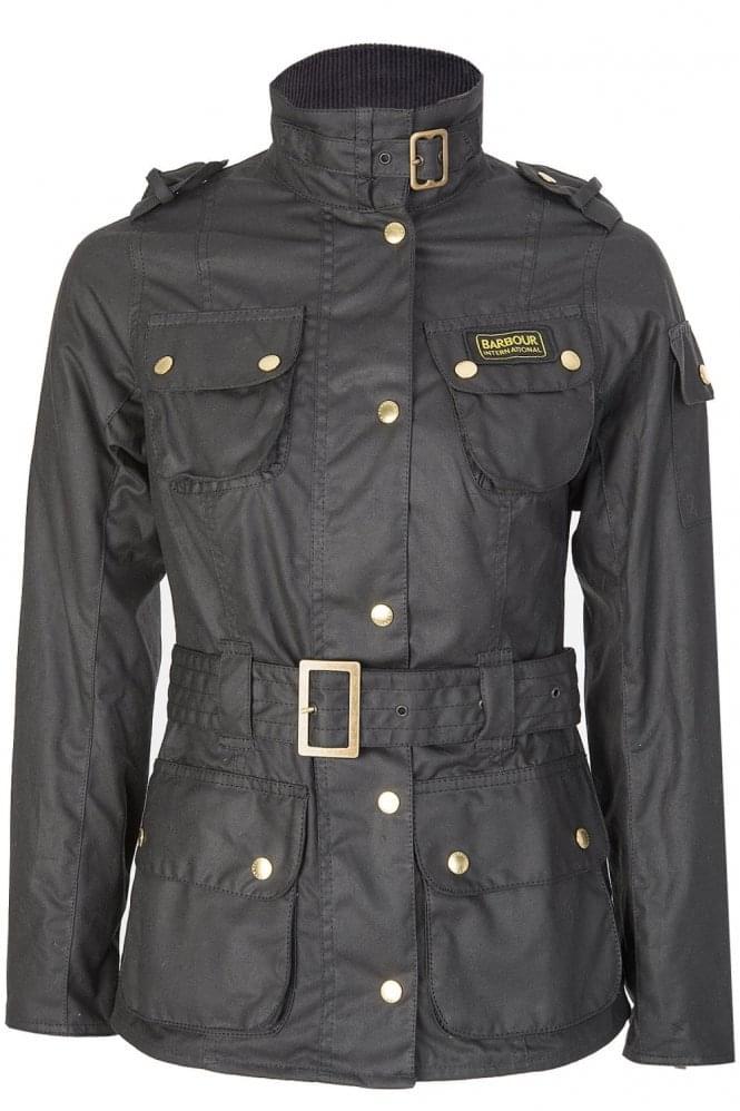 Barbour Womens International Jacket Black