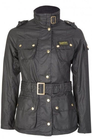 Barbour Women's International Jacket Black