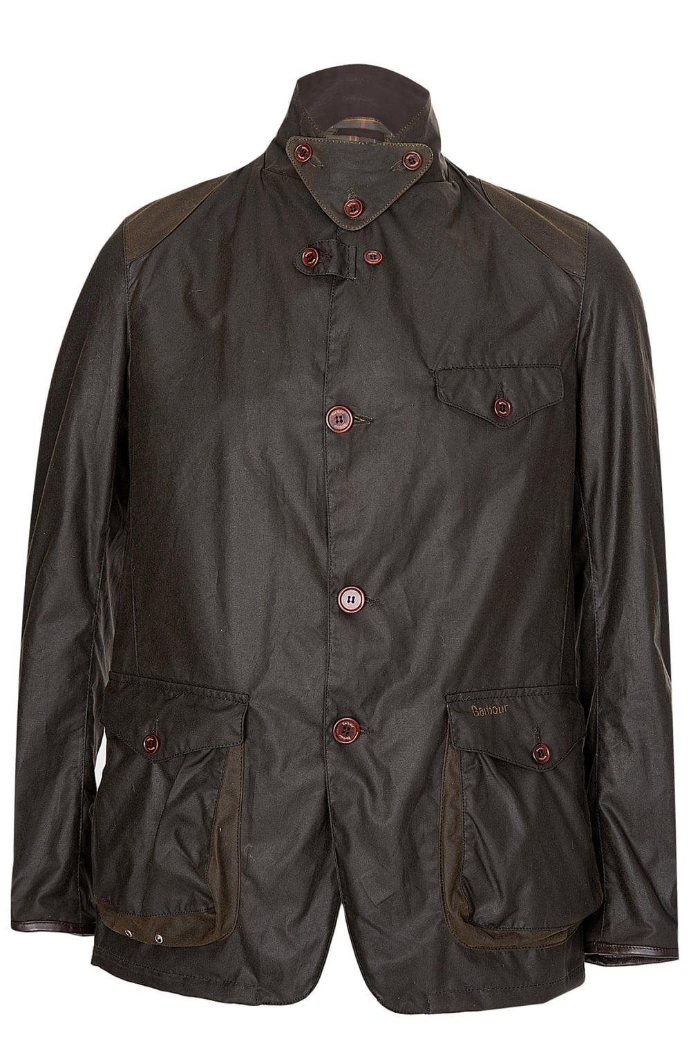 Barbour Beacon Sports Wax Jacket Olive