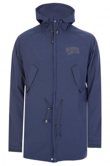 Billionaire Boys Club B-52 Nylon Parka Blue