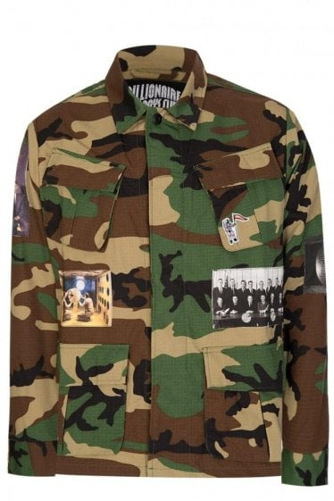 Billionaire Boys Club Camouflage Military Jacket