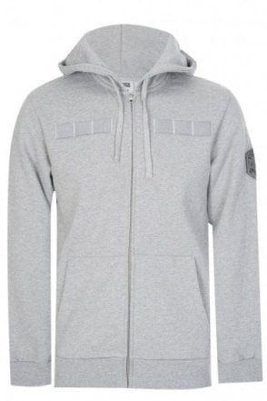 Billionaire Boys Club Flight Path Zip Hoodie Grey