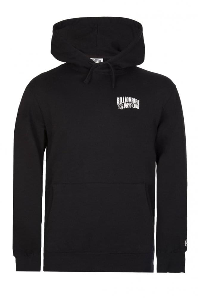 BILLIONAIRE BOYS CLUB Small Arch Logo Hoodie Black