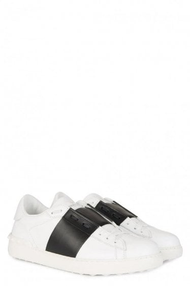 Valentino Block Stripe Sneakers