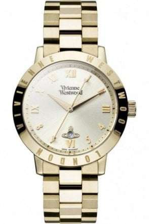 Vivienne Westwood Bloomsbury Pale Gold Watch