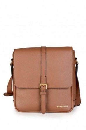 Burberry 'Bryett' Cross Body Bag Tan
