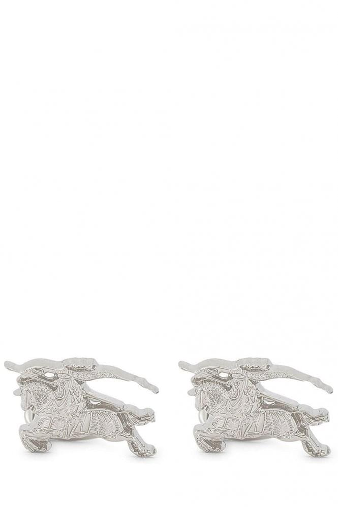 BURBERRY Equestrian Knight Cufflinks Silver