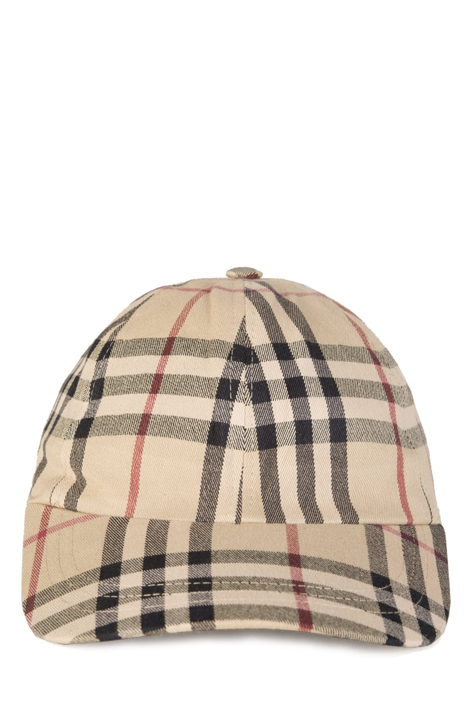 3eeb8d01b4c Burberry House Check Baseball Cap Tan