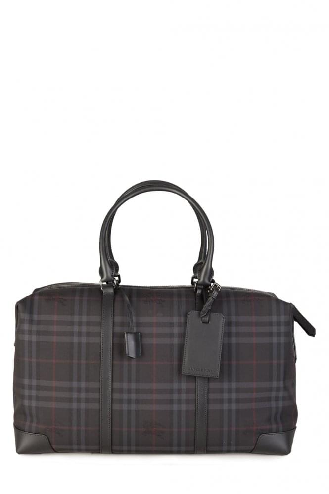 BURBERRY Kingswood Weekend Bag Charcoal