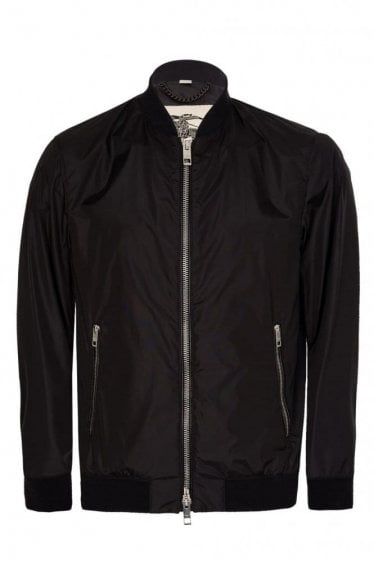 Burberry Nylon Jacket Black